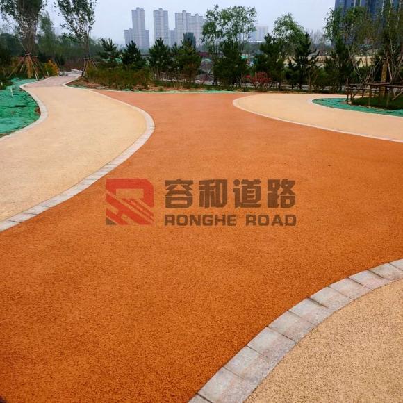 邯郸滏阳河透水混凝土