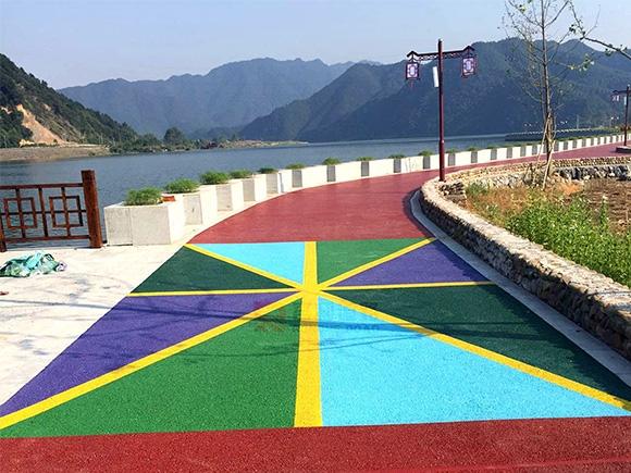 青海透水混凝土道路