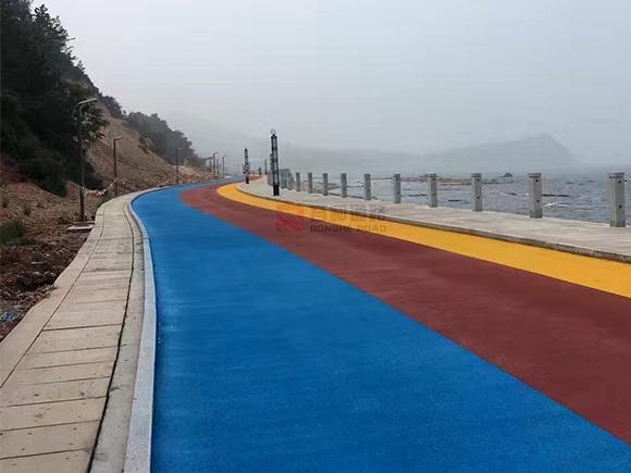 青海烟台长岛环海慢行道